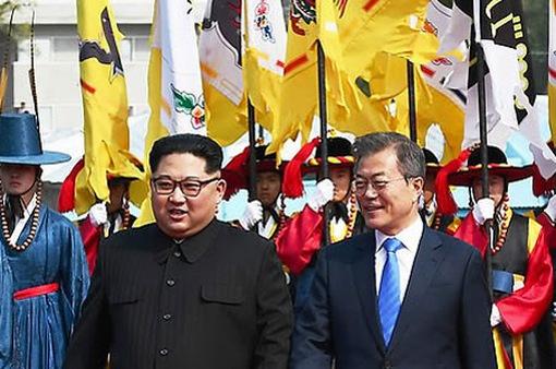 Những hình ảnh và con số ấn tượng về cuộc gặp thượng đỉnh liên Triều