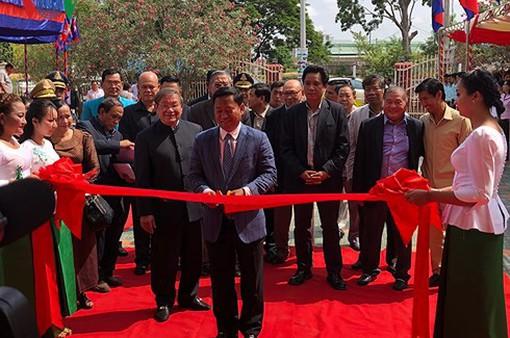 Khánh thành Đài phát thanh FM do VOV tặng tại tỉnh Kampong Speu