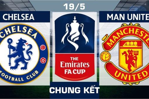 INFOGRAPHIC Chung kết FA Cup, Chelsea - Man Utd: Ngang tài ngang sức