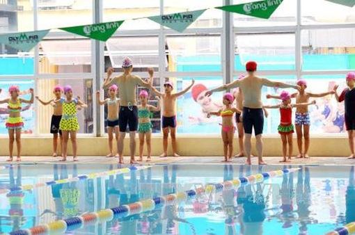 Phát động trẻ em toàn quốc học bơi an toàn