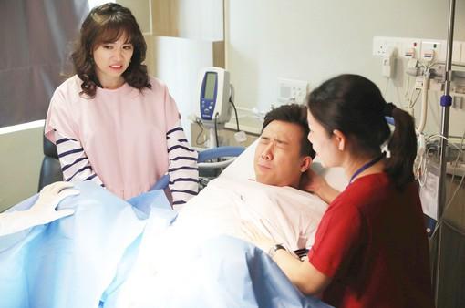 Khi đàn ông mang bầu: Trấn Thành, Trường Giang trải nghiệm cảm giác đau đớn khi sinh con