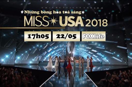 Đón xem Chung kết Hoa hậu Mỹ (Miss USA) 2018 trên FOXlife - VTVcab