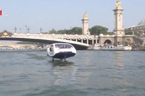 Thử nghiệm taxi bay trên sông Seine (Pháp)