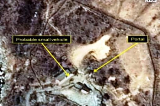 Triều Tiên dựng đài quan sát tháo dỡ bãi thử hạt nhân