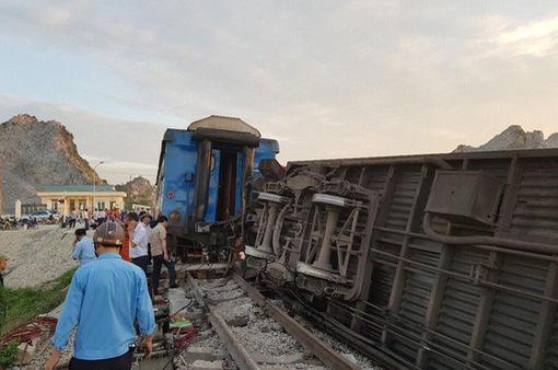 Khẩn trương điều tra nguyên nhân vụ tai nạn đường sắt tại Thanh Hóa