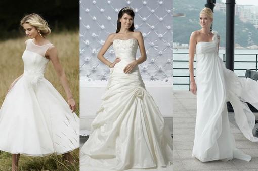Bí quyết lựa chọn váy cho mùa cưới