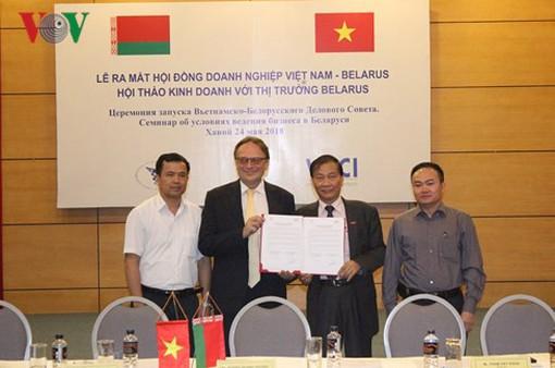 Ra mắt Hội đồng Doanh nghiệp Việt Nam-Belarus
