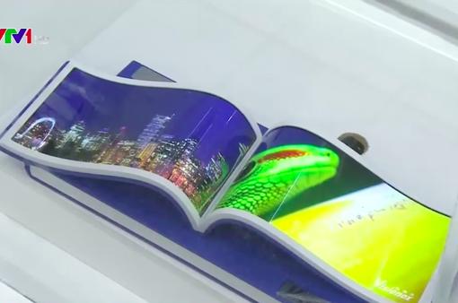 Triển lãm màn hình điện tử năm 2018: Xu hướng màn hình OLED linh hoạt