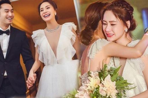 Những hình ảnh đầu tiên từ đám cưới lãng mạn của Chung Hân Đồng