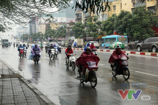 Từ trưa chiều nay (18/7),  Hà Nội có mưa to và dông