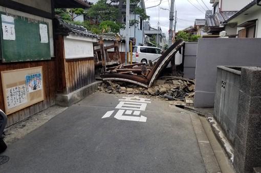 Hơn 200 người bị thương trong trận động đất tại Nhật Bản