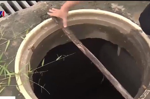 Hàng loạt nắp cống bị mất nắp tại TP.HCM