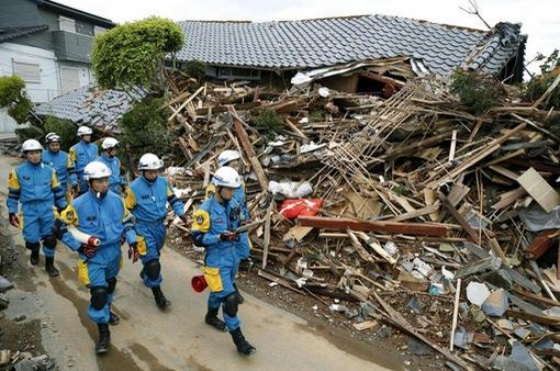 Động đất mạnh 5,9 độ richter làm rung chuyển miền Tây Nhật Bản