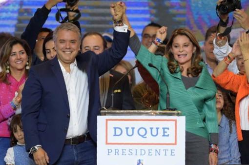 Bầu cử Tổng thống Colombia: Ứng cử viên Ivan Duque giành chiến thắng