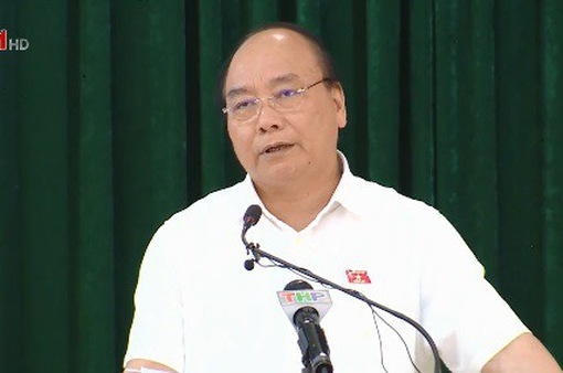 Thủ tướng tiếp xúc cử tri Hải Phòng