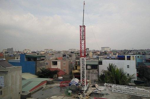 Đồng Nai: Trạm thu phát sóng di động trái phép đe dọa tính mạng người dân