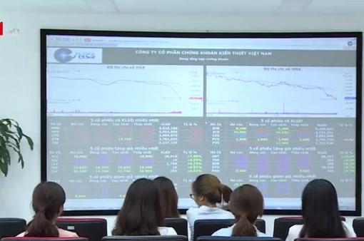 Vn-Index mất hơn 25 điểm, thanh khoản cao nhất trong vòng 2 tháng