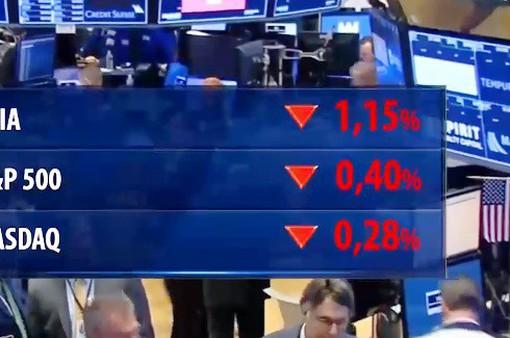 Chứng khoán toàn cầu đỏ sàn do nguy cơ căng thẳng thương mại gia tăng