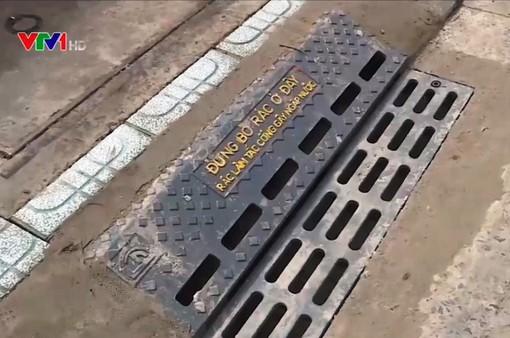 TP. HCM tiếp tục mở rộng lắp đặt hố ga ngăn mùi