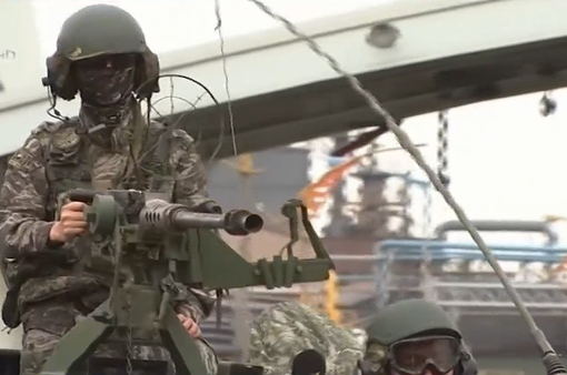 Hàn Quốc ngừng tập trận giả định Taegeuk