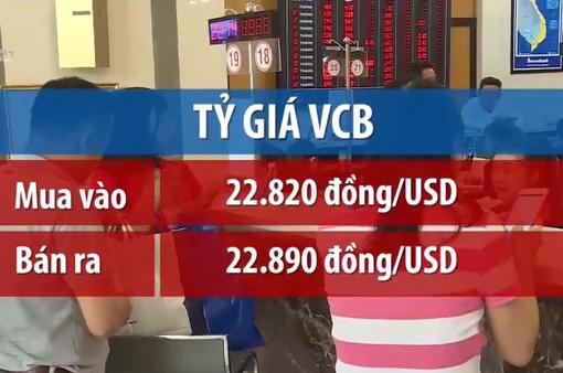 Tỷ giá trung tâm tăng mạnh nhất kể từ đầu tuần