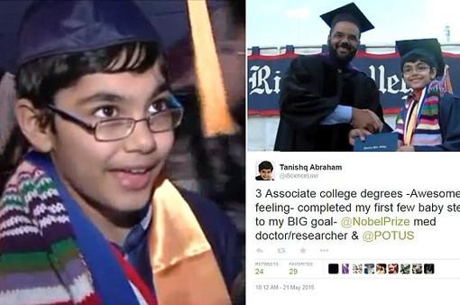 Cậu bé 15 tuổi tốt nghiệp Đại học California