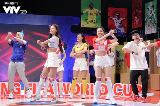 Ca sĩ Hà Lê phấn khích khi xuất hiện tại Nóng cùng FIFA World Cup™ 2018