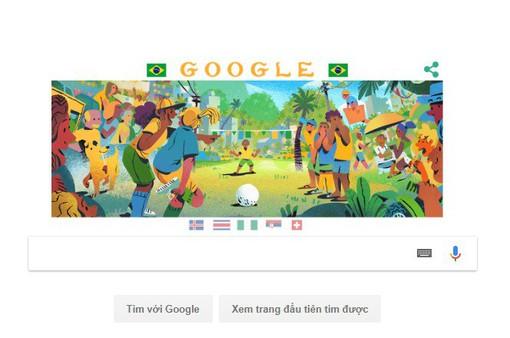 Google có gì cho ngày thứ 9 của World Cup 2018?