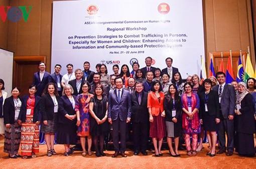 ASEAN tăng cường phòng chống mua bán phụ nữ và trẻ em