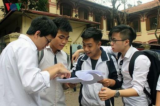 Hà Nội công bố điểm thi vào lớp 10 trong ngày 23/6