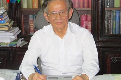 Giáo sư, Nhà giáo nhân dân Phan Huy Lê qua đời