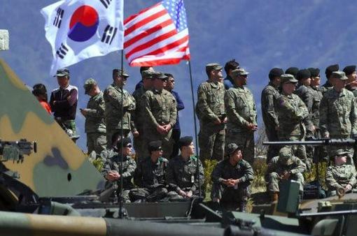 Mỹ ngừng vô thời hạn 2 cuộc tập trận với Hàn Quốc