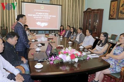 ĐSQ Việt Nam tại Nga kỷ niệm ngày Báo chí Cách mạng Việt Nam