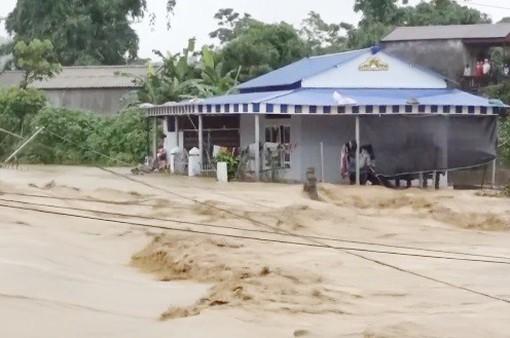 Mưa lũ gây thiệt hại nặng nề tại huyện Tam Đường, tỉnh Lai Châu