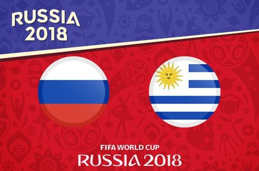 """TRỰC TIẾP Uruguay - Nga cùng """"Võ đoán"""" 2018 FIFA World Cup™"""