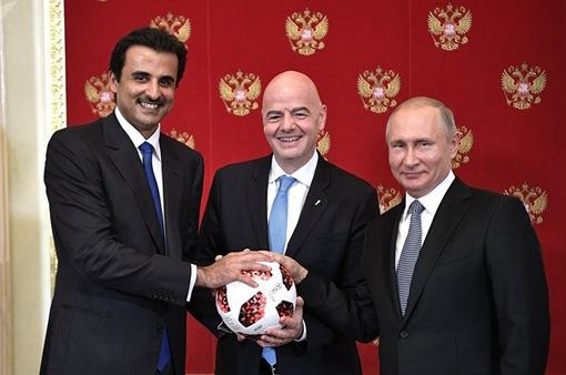 Nga trao quyền đăng cai FIFA World Cup 2022 cho Qatar