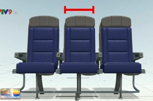 Mỹ xem xét điều chỉnh kích thước ghế ngồi máy bay