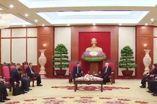 Tổng Bí thư Nguyễn Phú Trọng tiếp Phó Chủ tịch Quốc hội Lào