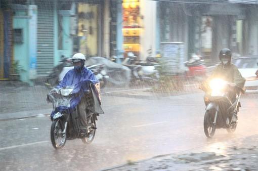 Ngày 17/7, áp thấp nhiệt đới đi vào đất liền Bắc Trung Bộ