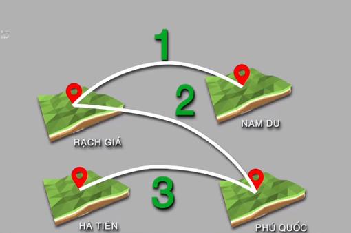 Kiên Giang ngừng hoạt động tàu cao tốc do bão số 3