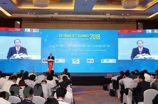 Vietnam ICT Summit 2018 ra thông điệp hướng tới chính phủ số và kinh tế số