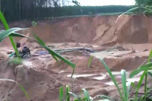 Vì sao tình trạng cát tặc tại Bình Thuận ngày một lộng hành?