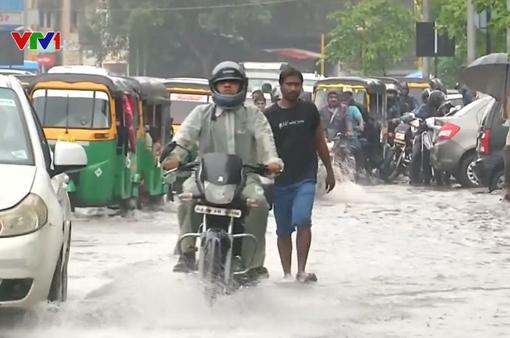 Mưa lớn kéo dài tại Ấn Độ, ít nhất 11 người thiệt mạng