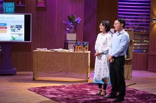 """Shark Phú thành """"người bán mắm"""" sau khi đầu tư cho đôi vợ chồng trẻ"""