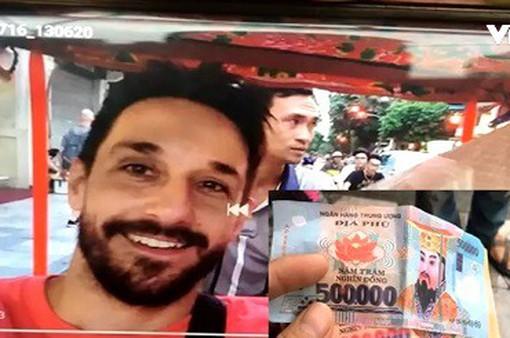 Vụ du khách bị trả tiền âm phủ: Thủ phạm không phải người lái xích lô