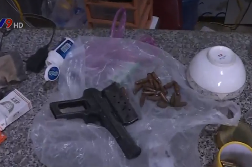 Thu giữ súng quân dụng trái phép tại Đăk Lăk