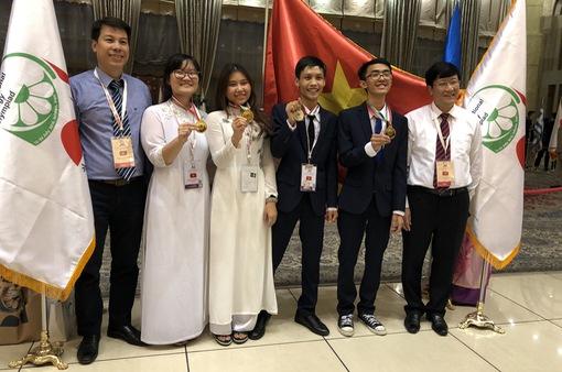 6 yếu tố giúp Việt Nam đạt thành tích cao ở kỳ thi Olympic năm 2018