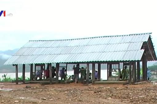 Mưa lũ tại Hòa Bình: 1 người thiệt mạng, 89 căn nhà bị sạt lở