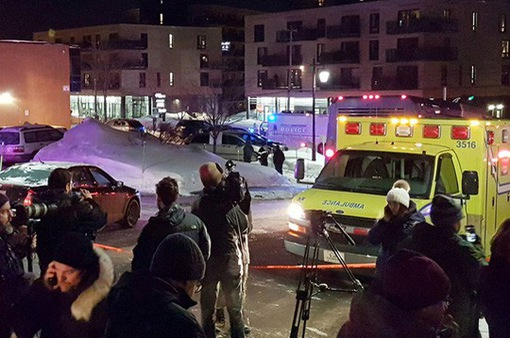 Xả súng ở Canada, hàng chục người bị thương
