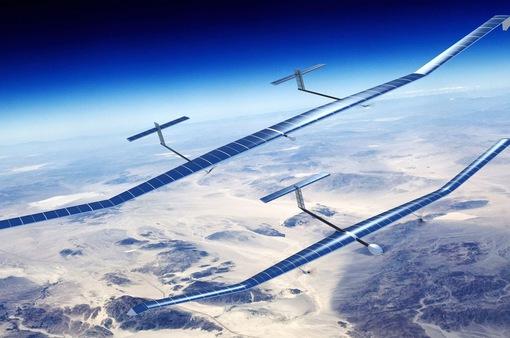Máy bay không người lái tự sạc điện từ năng lượng Mặt trời
